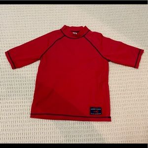 Boys Janie and Jack rash guard size 4